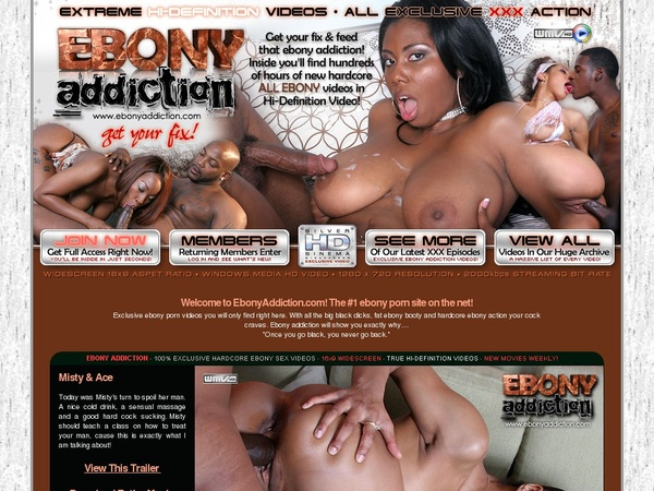 Addiction Ebony Promo