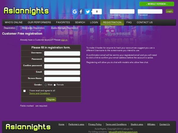 Asian Nights Promo Tour