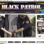 Black Patrol Iphone
