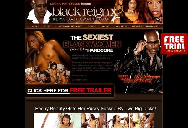Black Reign X Sign Up Form