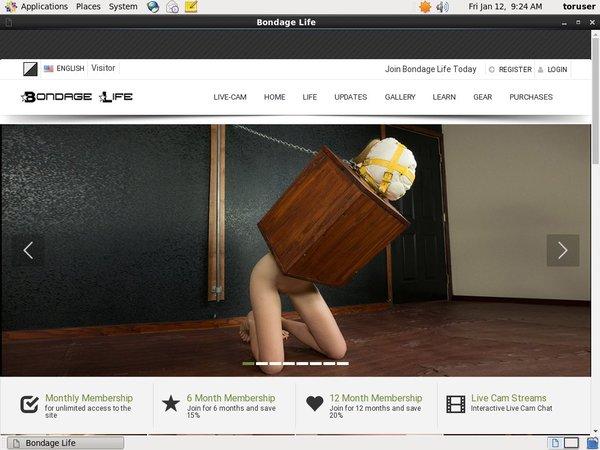 Bondage Life Hacked Account