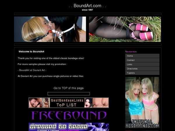 Boundart.com Passcodes
