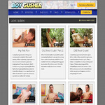 Boy Gusher Subscription Deal