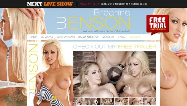 Breanne Benson New Password