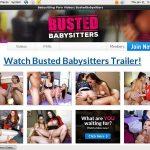 Bustedbabysitters.com Website Accounts