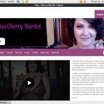 Cherrybardot.com Freies Konto