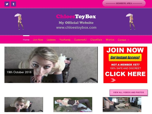 Chloes Toy Box Premium Logins