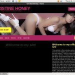 Christine Honey Pay With Paypal