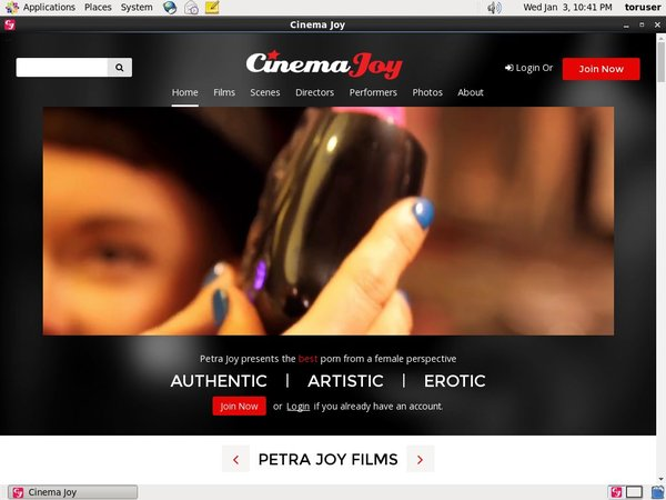 Cinema Joy Wire Payment