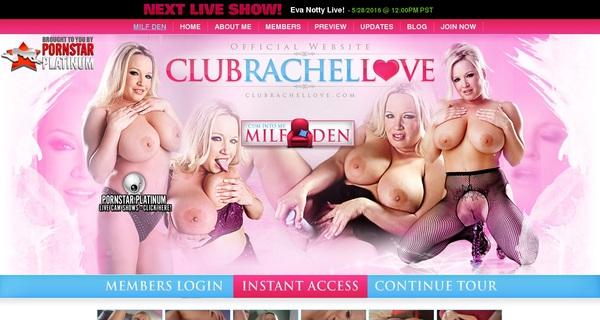 Club Rachel Love Account List