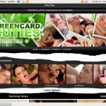 Coupon Green Card Cuties