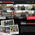 Czech Experiment Logins 2018