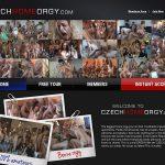 Czech Home Orgy Pics