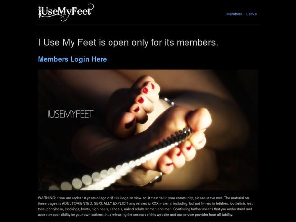 Discount Iusemyfeet.com Offer