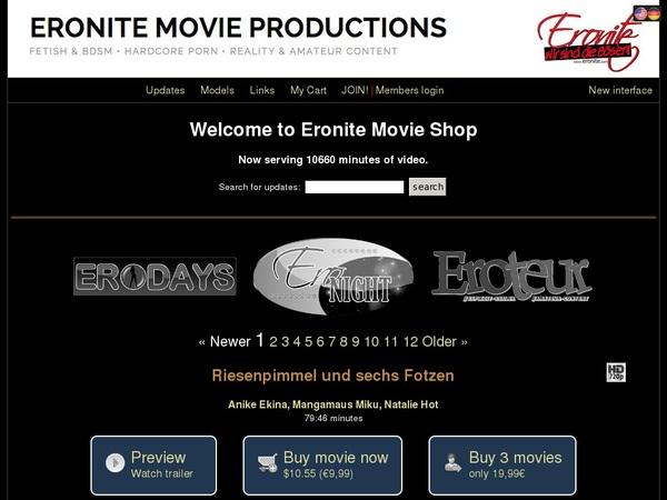 Eronite-movies.com Accounts