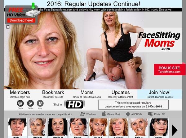 Face Sitting Moms Deal