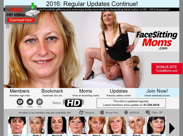 Face Sitting Moms Join Free