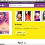 Fancentro.com Password Site