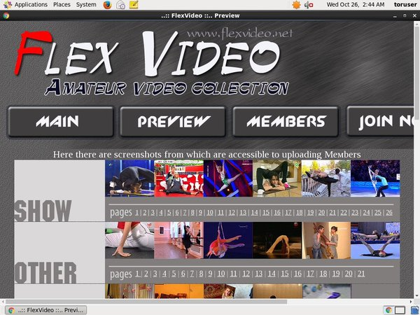Flexvideo Login Ids