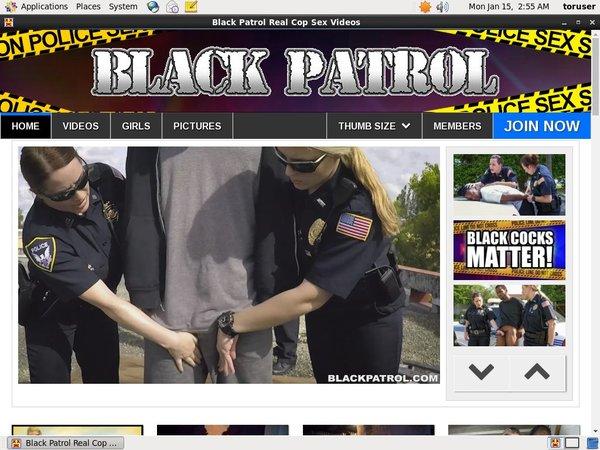 Free Black Patrol Clips