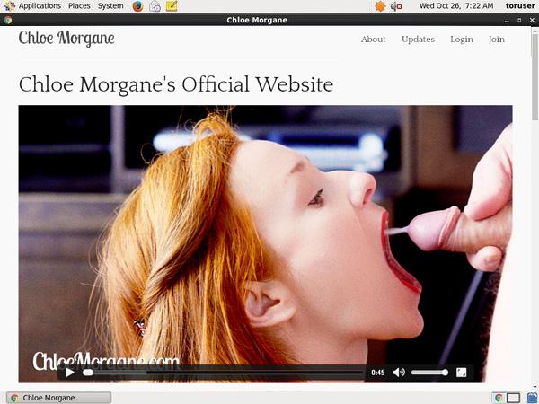 Free Chloemorgane Account Password