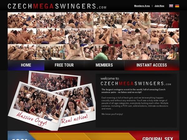 Free Czech Mega Swingers Account New