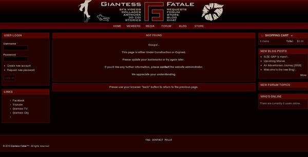 Free Giantessfatale Trial Access