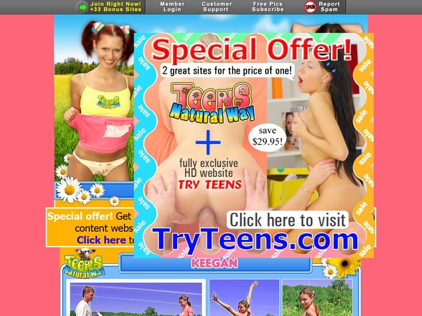 Free Teens Natural Way Account Discount