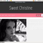 Full Sweet Christine Videos