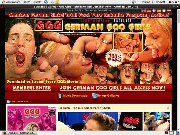 German Goo Girlspasswords