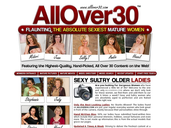 Get A Free Allover30.com Membership