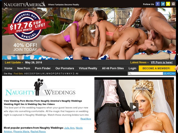 Get A Free Naughty Weddings Login