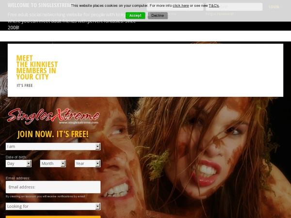Get A Free Singlesxtreme.com Password