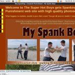 Get My Spank Boys Promo Code