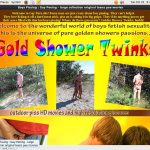 Gold Shower Twinks Acc Free