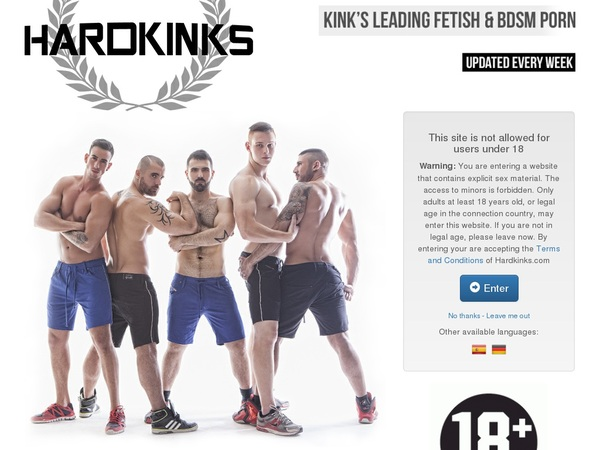 Hardkinks.com Free Pass