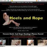 Heelsandrope.com New Porn
