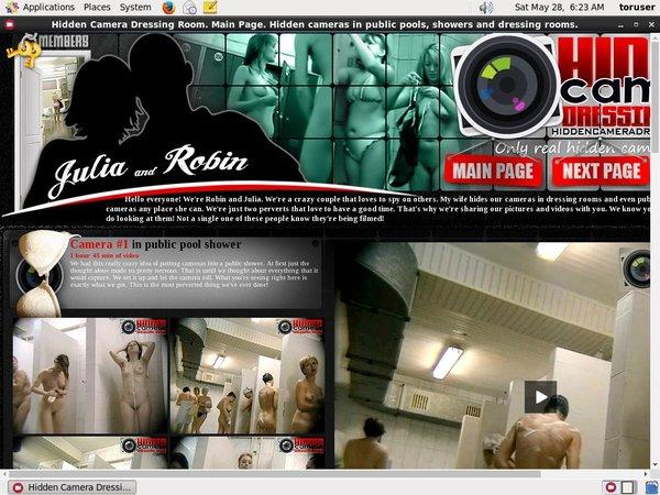 Hidden Camera Dressing Room Sale