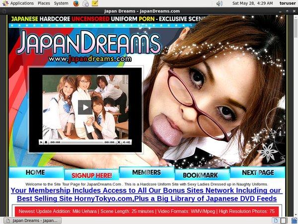 Japan Dreams Trial Membership $1