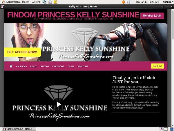 KellySunshine Passwort