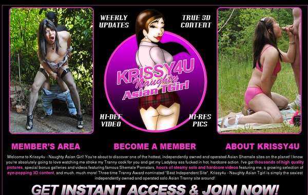 Krissy 4 U Discount Page