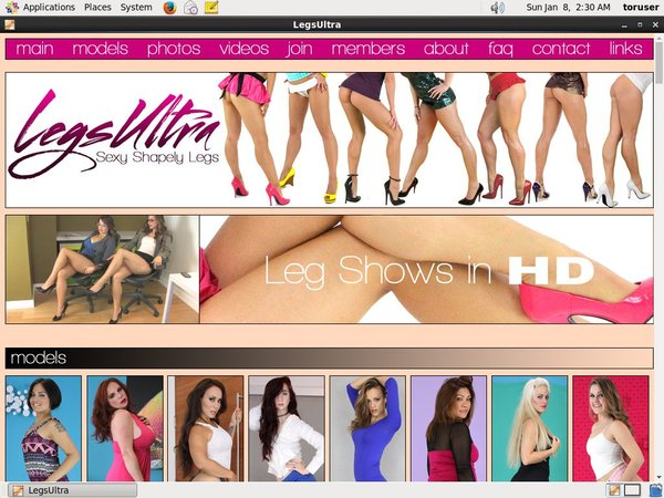 Legs Ultra Site Reviews