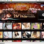 Liveasianwebcams.com New Accounts