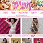 Maymodel With Mastercard