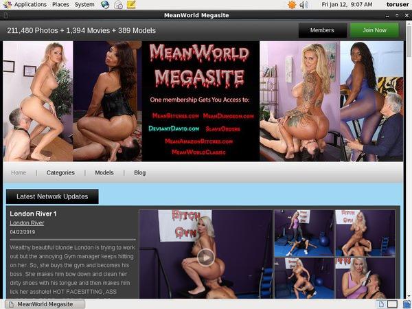 Mean World Passwort