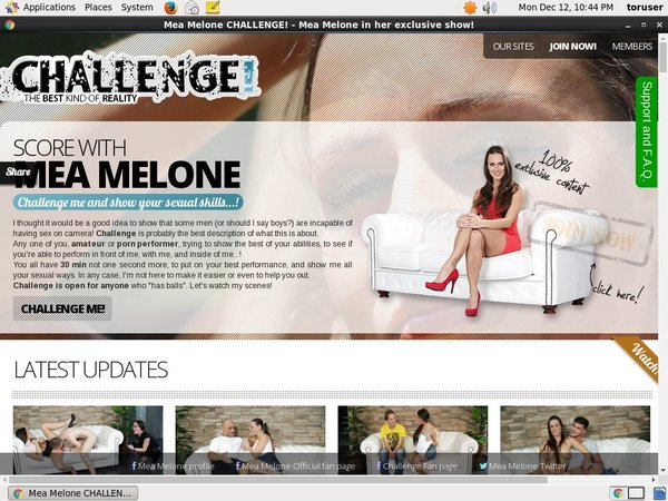 Melonechallenge.com Streaming