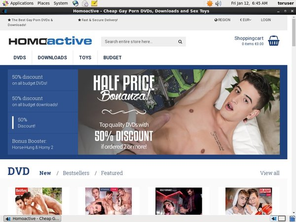 Membership Discount Homoactive