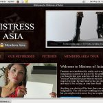 Mistress Of Asia With JCB Card
