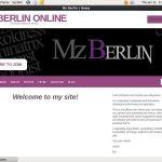 Mzberlinonline.modelcentro.com Membership Discounts