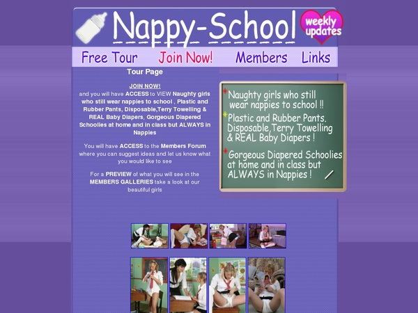 Nappy-school.com Logon
